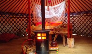 Bijzondere overnachting mongoolse yurt