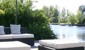 Logeren water Friesland